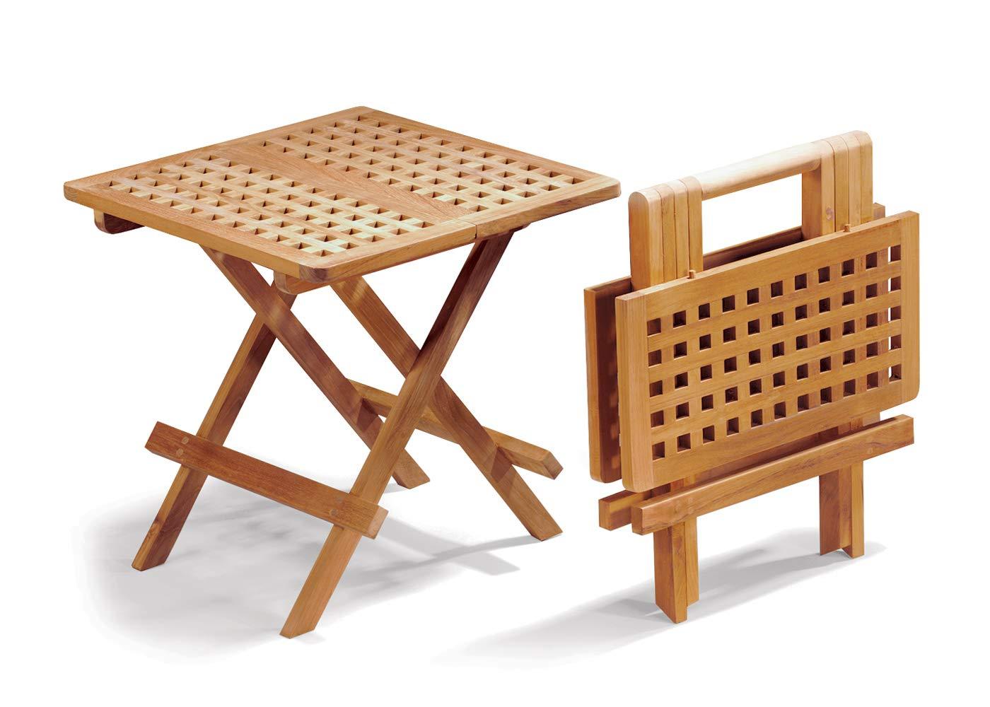 Jati Folding Picnic Table - A-Grade Teak Folding Garden Coffee Table Brand,  Quality & Value