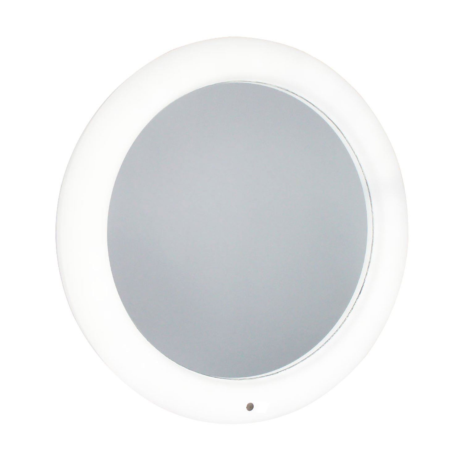 Taylor /& Brown Battery Operated Modern Round LED Illuminated Bathroom Mirror Light with Smart Touch Control