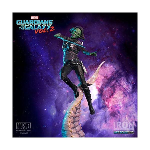 "Gamora ""Guardians of the Galaxy Vol. 2"" Iron Studios Battle Diorama Series 1/10"