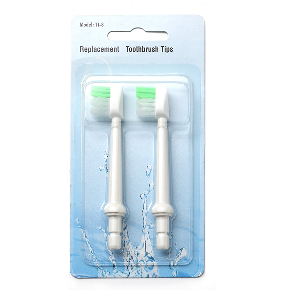H2ofloss Toothbrush Tip For All Types Of H2ofloss Oral Irrigator(Package of 2)