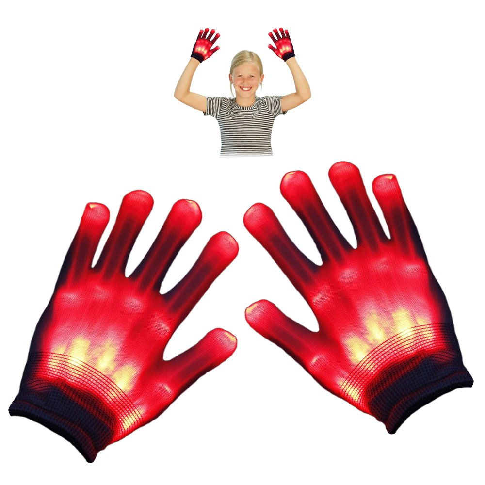 TOP Gift LED Flashing Gloves - Novelty Toys - Best Gifts TOP Gift 3-7 years Boy Toys GL03