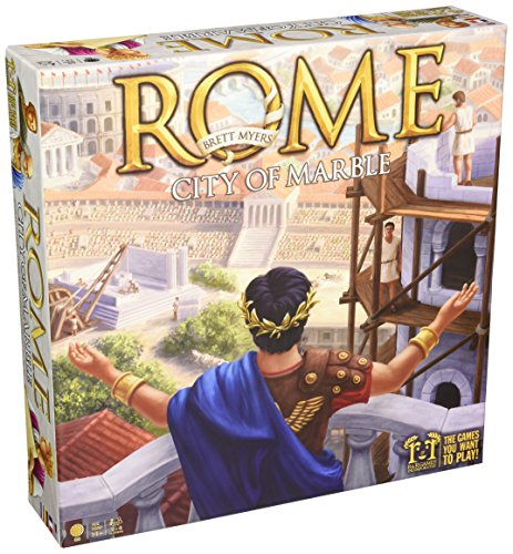 Rome- City of Marble Board Game (Rome Board Games)