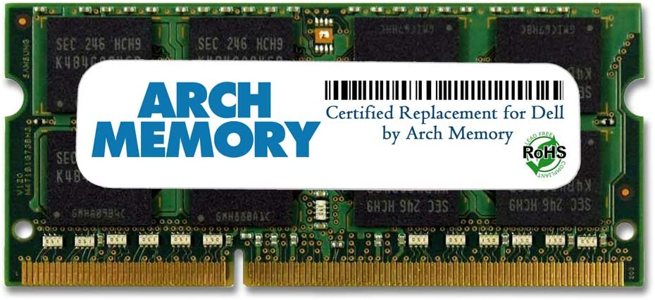 Arch Memory Replacement for Dell SNPN2M64C/8G A7022339 8 GB 204-Pin DDR3L So-dimm RAM for Precision M4800