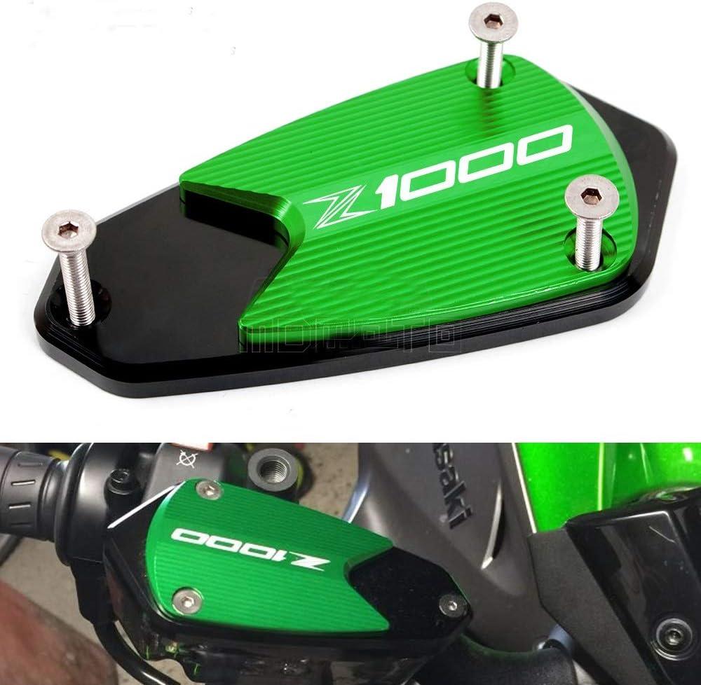 SHUAIFEI Motorrad CNC Aluminium Vorderradbremse Kupplungsfl/üssigkeit Beh/älter Reservoir Oil Cup Abdeckkappe for Kawasaki Z1000 2010-2019