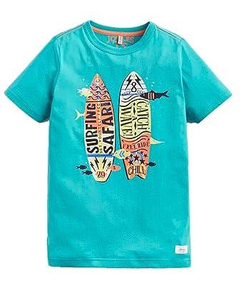 Joules Ben - Camiseta para niño con Texto Catch A Wave Verde Verde ...