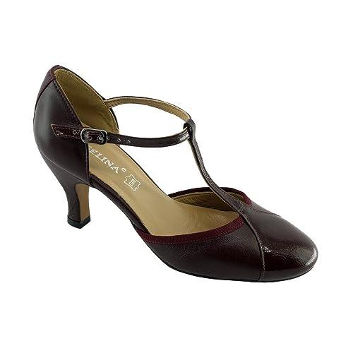 Escarpins Sonia Salomé A Talon Bobine Angelina® Chaussures Bride TAdw5pTq