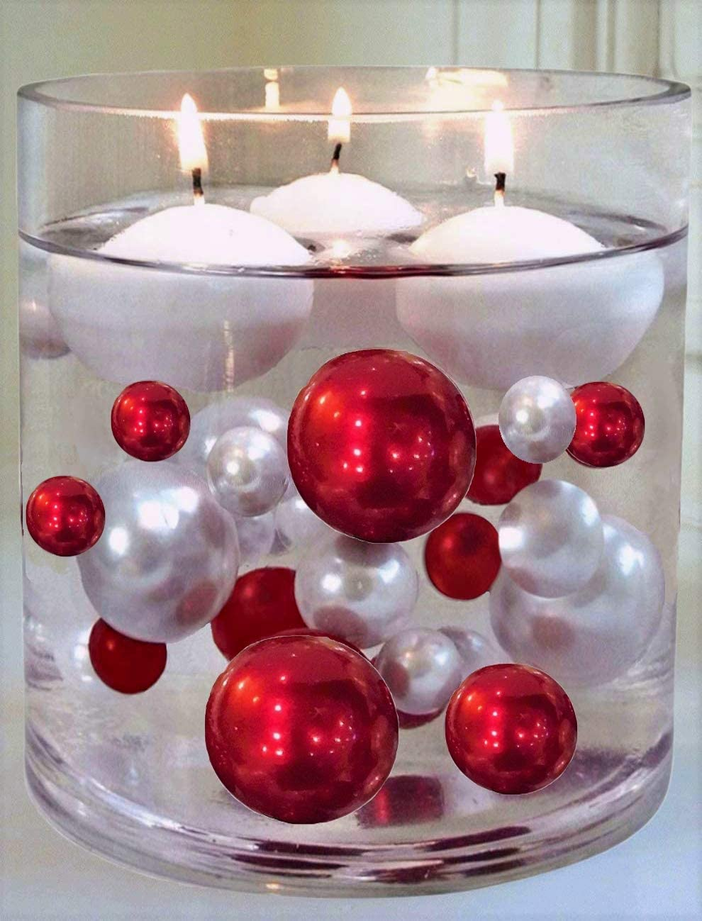 Vot-440 2 Pack Hot Pink Ball Candle 4