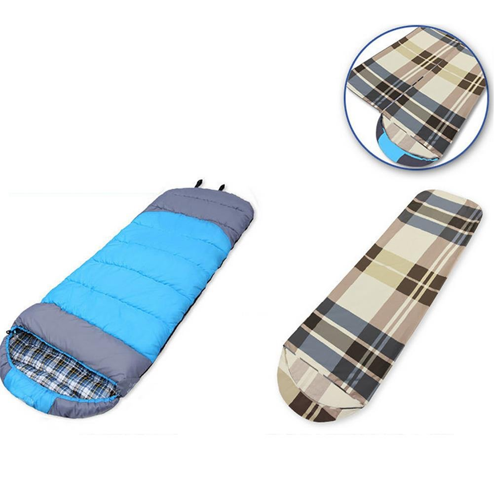 MIAO Outdoor Camping Thick Cotton Envelope Schlafsack