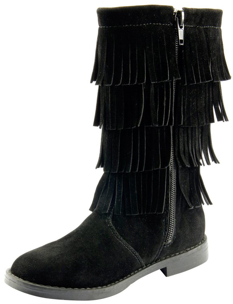 The Doll Maker Flat Suede Boot-TD173025A-12