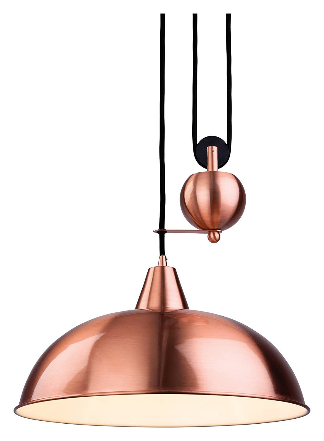 Firstlight 2309cp e27 edison screw 60 watt century rise and fall firstlight 2309cp e27 edison screw 60 watt century rise and fall pendant light copper amazon lighting mozeypictures Image collections