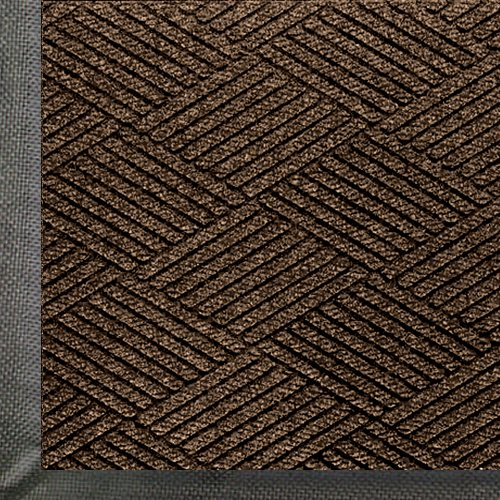 [Andersen 2295 WaterHog Eco Premier Polyester Fiber Entrance Indoor/Outdoor Floor Mat, SBR Rubber Backing, 6' Length x 4' Width, 3/8