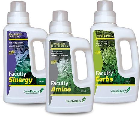 GreenFaculty - Advanced - Kit Fertilizantes Abonos para ...