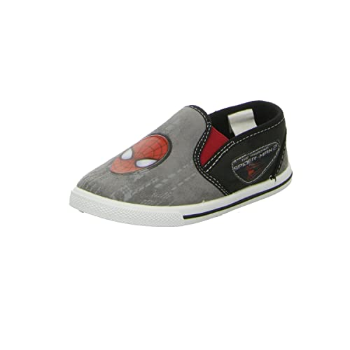 Spiderman - Mocasines para niño, color Gris, talla 25: Amazon.es: Zapatos y complementos