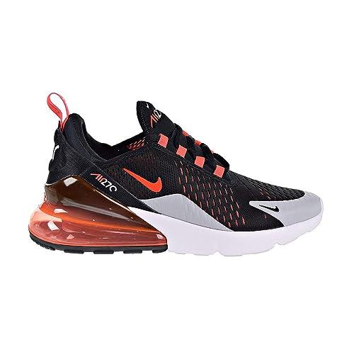 Buy Nike Air Max 270 Big Kids Shoes Black/Bright Crimson ...