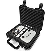 Lekufee Portable Waterproof Hard Case Compatible with New DJI Mini 2 Drone and Mavic Mini 2 Accessories