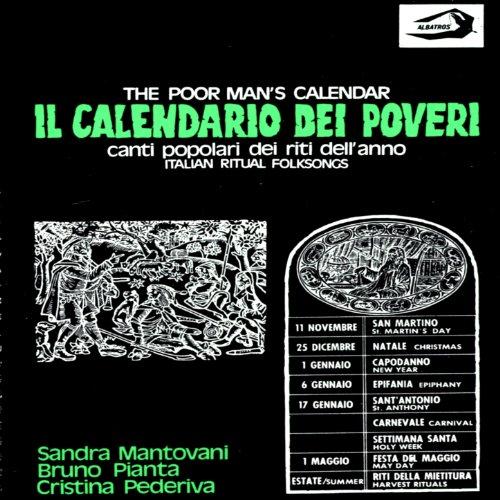 album il calendario dei poveri the poor man s calendar canti popolari