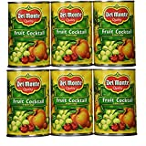 Del Monte Classic Fruit Cocktail in Heavy Syrup 15.25 Oz (Pack of 6)