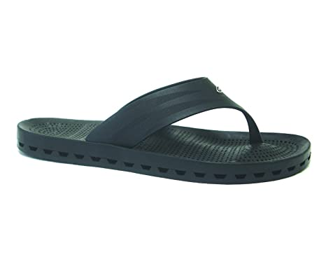 d8a78af738e8c7 Amazon.com  Sensi Maui Flip Flops Black (US Size 4   5 - Sensi Size ...