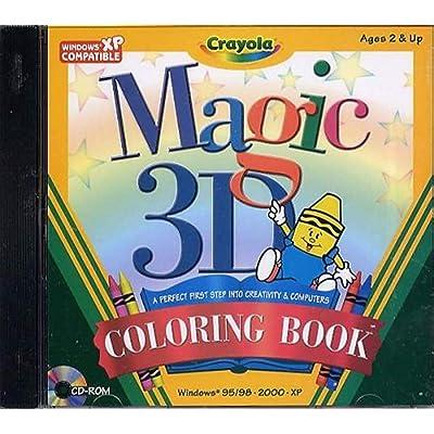 Crayola Magic 3D Coloring Book (PC): Toys & Games
