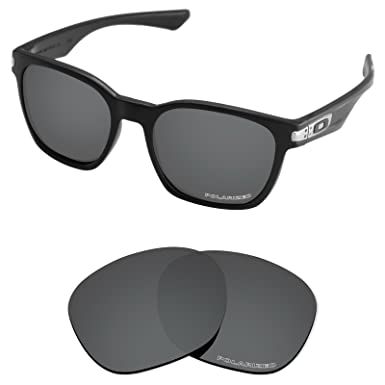bcd2ae5e21 Tintart Performance Lenses Compatible with Oakley Garage Rock Polarized  Etched-Carbon Black