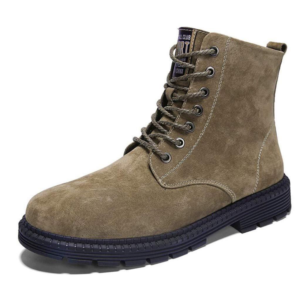 Zxcvb Männer Premium Leder Soft Toe leichte industrielle Bau Moc Arbeitsstiefel isoliert schwarz braun grau