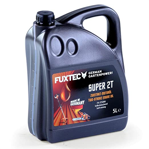 Fuxtec zweitaktöl 5 litros 2 del aceite para Motor de gasolina ...
