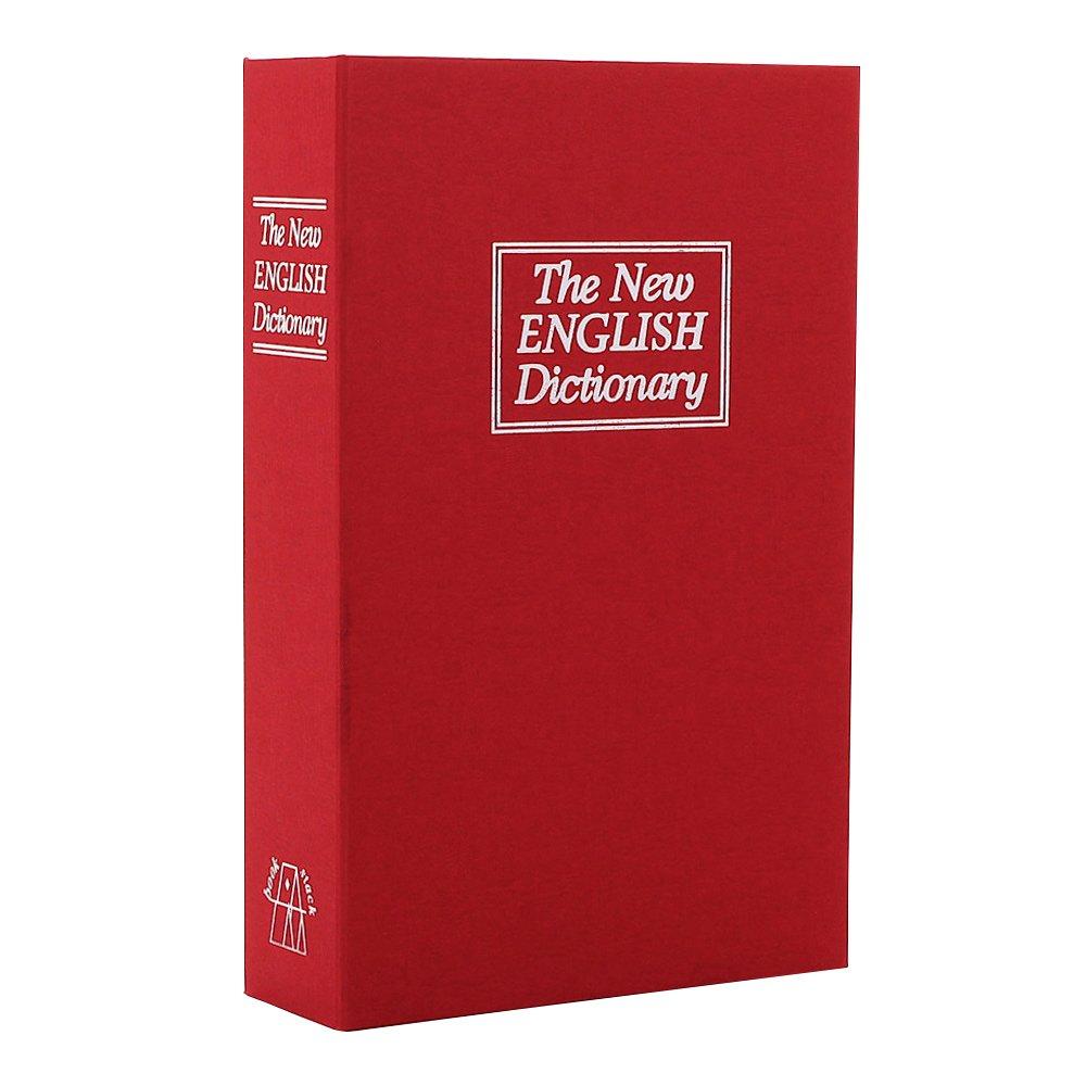 Rottner 5337 - Caja fuerte con forma de libro, diseño con texto en inglés