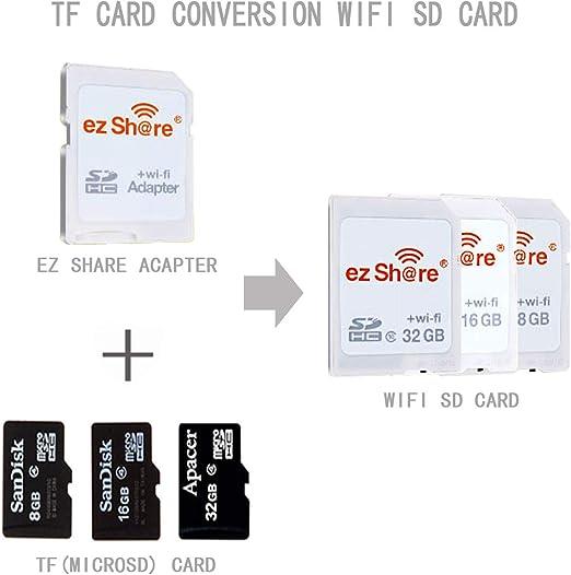 Ez Share 8gb 16gb 32gb Adapter Wifi Sdhc Karte Class10 Computer Zubehör