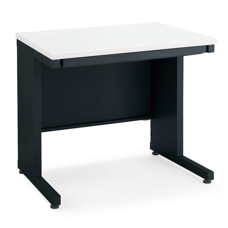 【配送組立設置込】 コクヨ オフィスデスク インベント TKG-B86E6APAW 平机 幅80×奥行60cm ブラック   B07M8PNKN2