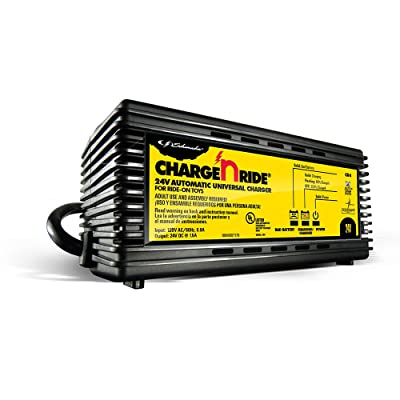 Schumacher CR4 1.5A 24V Universal Battery Charger For Ride-On Toys: Automotive