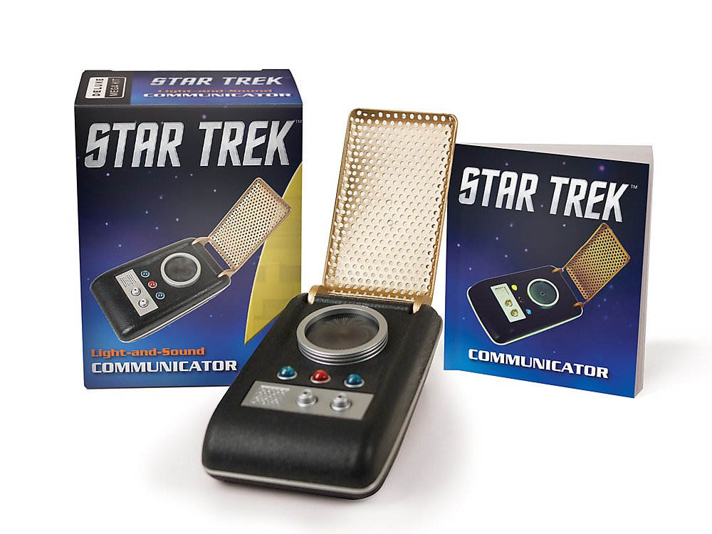 star trek light and sound communicator miniature editions