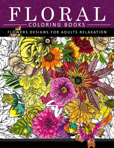 Religious Tattoos Designs (Floral Coloring Books Flower Designs for Adults Relaxation: An Adult Coloring Book)