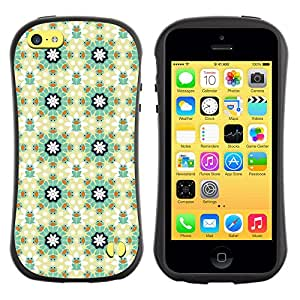 ArtSpace Premium Hybrid Back Case Cover Apple iPhone 5C ( Flower Pattern )
