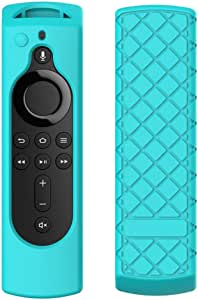 Lovewe Silicone Case Protective Cover Skin for Amazon Fire TV Stick 4K - 4 Colors | Protective, Durable, Washable | Easy to Apply, Remove, and Change Styles (Green)