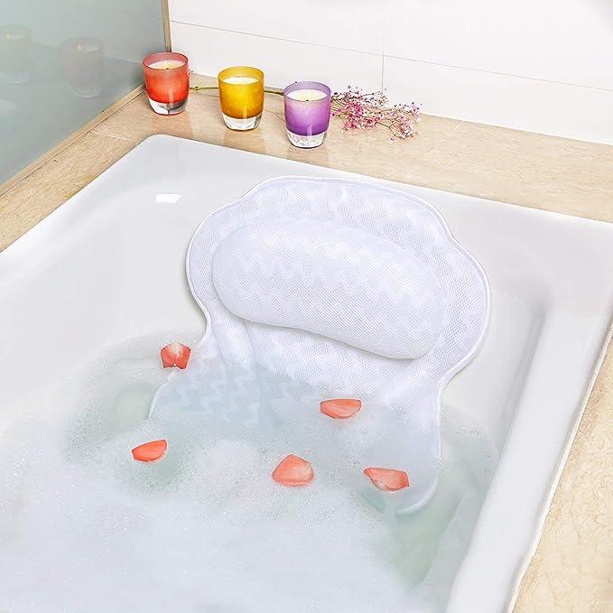 Bath Pillows for Straight Back Tubs