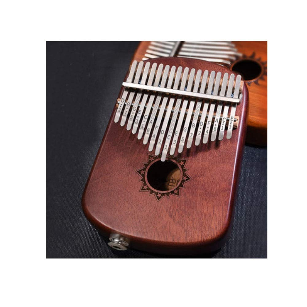 Youshangshipin Kalimba, 17-tone Retro Design Style Thumb Piano, Beginners To Learn To Practice Professional Performance Of The General Style (Style 5, There Are Many Styles To Choose From)