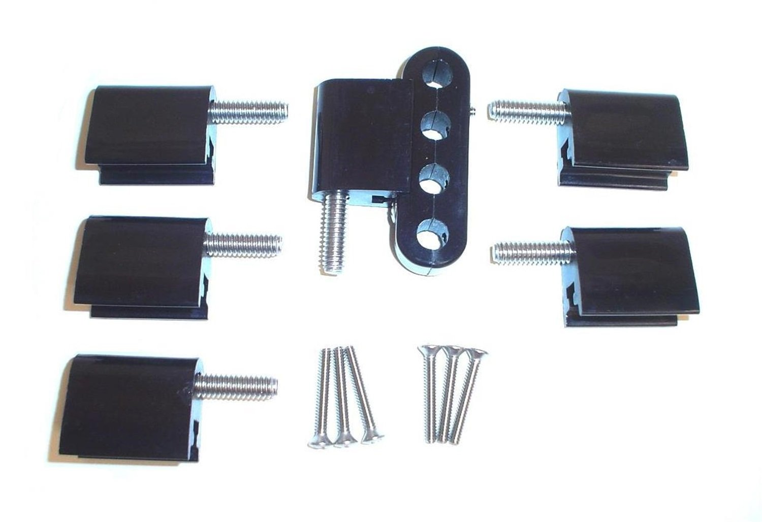 Taylor Cable 42705 Black Vertical Mounting Bracket for Clamp Style Wire Separators