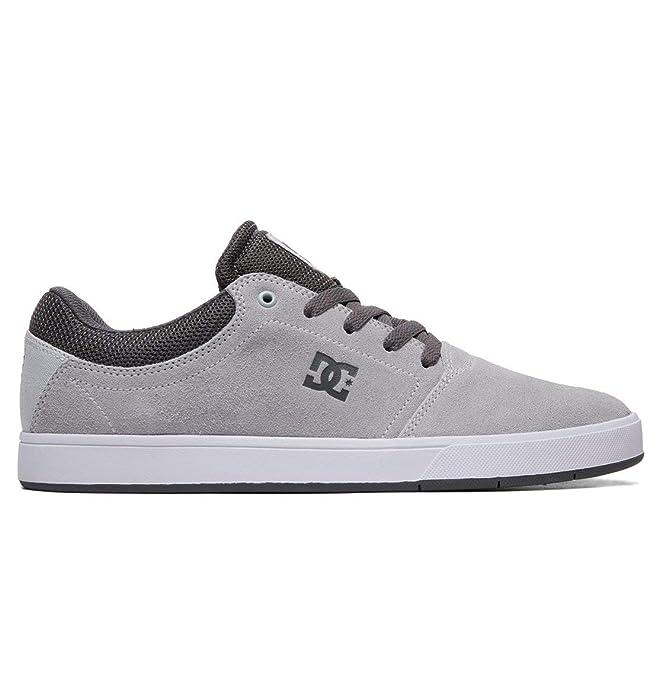 DC Shoes Crisis Sneakers Skateboardschuhe Herren Erwachsene Grau/Schwarz (Grey/Black)