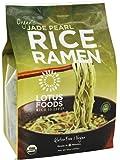 Lotus Foods - Organic Rice Ramen Bamboo-Infused Noodles 4 Pack Jade Pearl - 10 oz.