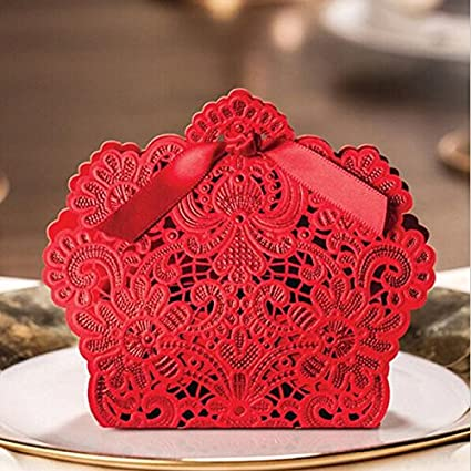 Amazon Krismile 50pcs Wedding Decorations Red And Champagne