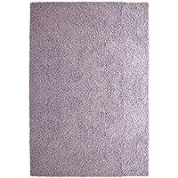 iCustomRug Bella Shag Rug - Luxurious and Thick Lilac 4 Feet X 6 Feet (4' x 6') Soft & Shaggy Double Textured Fiber For A Modern Home Decor