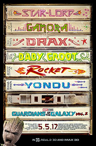 Posters Usa   Marvel Guardians Of The Galaxy Vol  2 Ii Movie Poster Glossy Finish   Mov828  16  X 24   41Cm X 61Cm