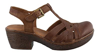 7c05406559973 B.O.C Womens Persi Leather Closed Toe Casual Slingback Sandals