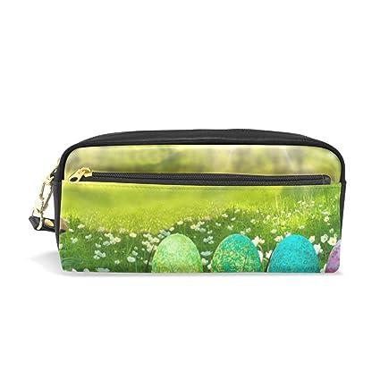 Bennigiry - Estuche para lápices, diseño de huevos de Pascua ...