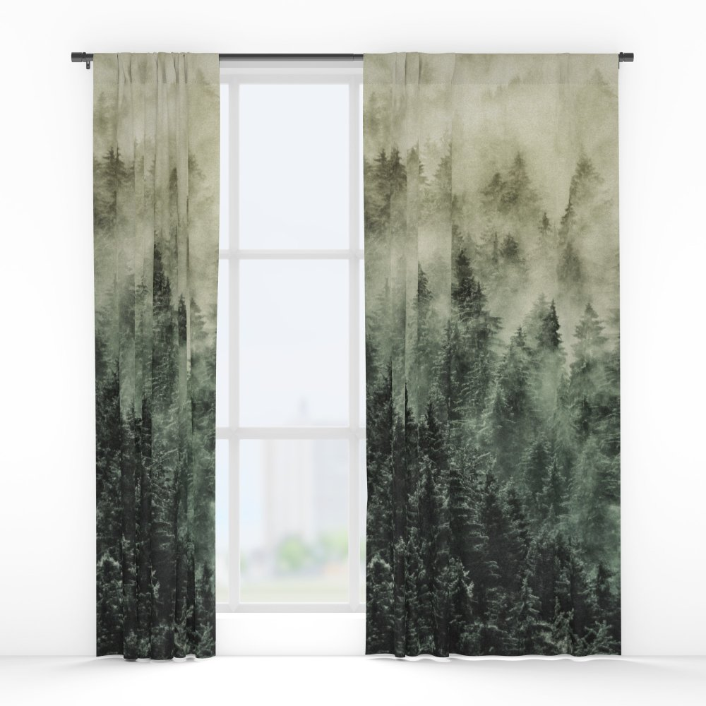 Society6 Everyday // Fetysh Edit Window Curtains Double Panel