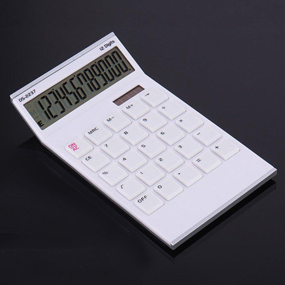 ZqiroLt Calculadora, 12 d¨ªgitos Mesa calculadora Escritorio ...
