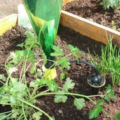 4 Soportes de riego por goteo: Amazon.es: Jardín