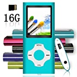Amazon Price History for:Tomameri - MP3 / MP4 Player with Rhombic Button, Portable Music and Video Player, Including a 16 GB Micro SD Card and Maximum support 32GB, Supporting Photo Viewer, Video and Voice Recorder - Blue