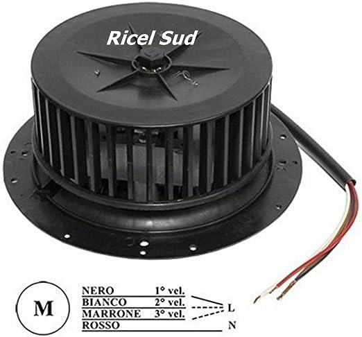 Motor para campana extractora 100 W 3 velocidad universal: Amazon.es: Hogar