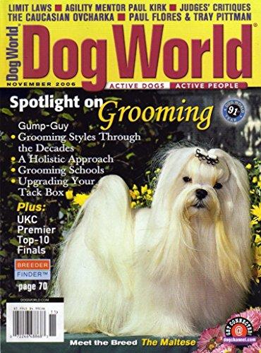Dog World Magazine November 2006 Maltese (Single Back Issue)